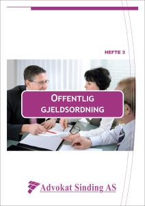 Gjeldsboken - Offentlig gjeldsordning