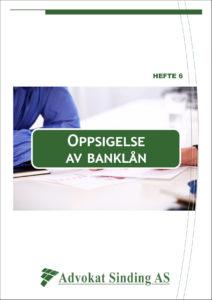 Gjeldsboken - Oppsigelse av banklån